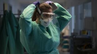 یک پرستار در اسپانیا