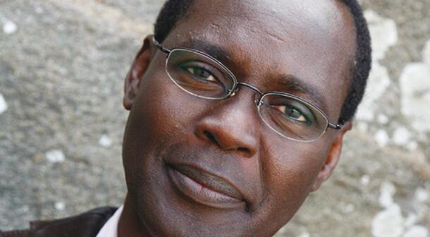 Le poète romancier et essayiste tchadien, Nimrod.
