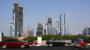 Le quartier des affaires de Dubaï.