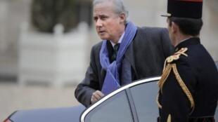 O vice-ministro Georges Tron fotografado em novembro passado no Palácio do Eliseu, em Paris.