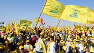 گروه شبه نظامی حزب الله لبنان