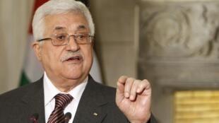 محمود عباس رهبر دولت خودگردان فلسطین