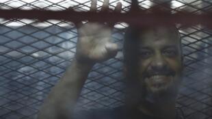 Mohamed El-Beltagy, uno de los líderes de los Hermanos Musulmanes en la corte del Cairo el 7 de agosto del 2014.