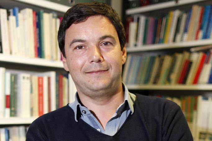 法国著名经济学家托马斯·皮凯蒂资料图片
