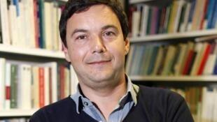 法國著名經濟學家托馬斯·皮凱蒂資料圖片