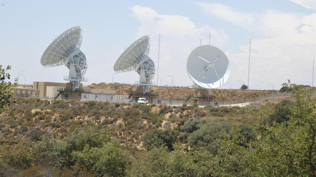 Le Muos, des antennes paraboliques à très hautes fréquences.