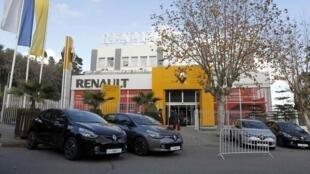 Un concessionnaire Renault à Alger.