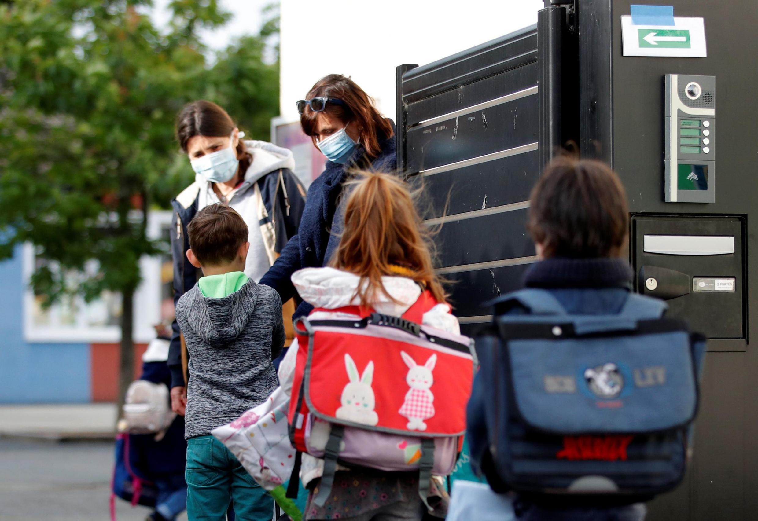 French pupils have been returning to school in limited numbers since 11 May. President Emmanuel Macron's pledge to have all schools up to the high-school level reopen on 22 June would make France one of few countries to completely reopen before September, but restrictions have been heavy so far.