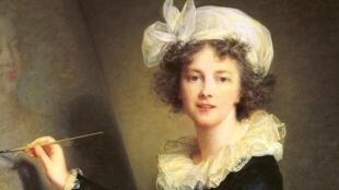 Autoportrait de Elisabeth Louise Vigée-Lebrun.