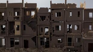 « Ceci est mon cœur » Khaled Dawwa, artiste syrien en exil. © Olivier Favier / RFI