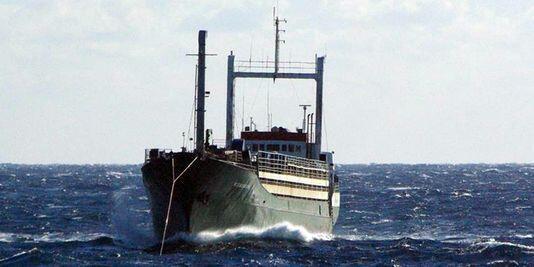 "Le navire ""Ezadeen"", vendredi 2 janvier."