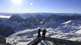 Allemagne - Zugspitze - ski - covid-19