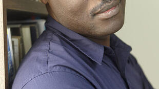 "Nigerian writer Helon Habila, author of the novel ""Travelers"""