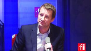 Yannick Jadot, député européen et porte-parole des Verts/Ale, en tête du premier tour de la primaire EELV.