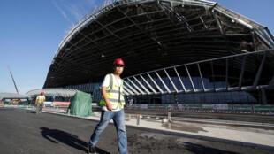 北京正在兴建一座世界最大客流最多的飞机场航站