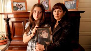 Susana Trimarco, la madre de Marita Verón, y Sol Micaela, su hija.