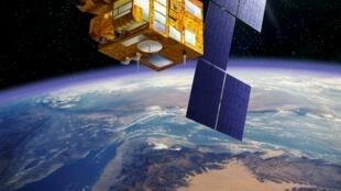 Pleiade, satellite d'observation de la Terre.