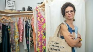 Adepta da Slow Fashion, Ana Fernanda Souza é criadora do Justa Moda e representante do movimento Fashion Revolution em Salvador.