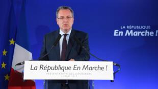 法國國民議會議長理查 德費朗