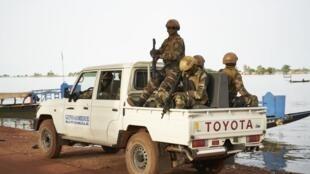L'armée malienne déployée dans le centre du pays (ici à Mopti).