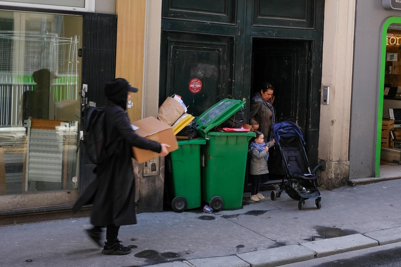 Rue de Paradis, no 10° distrito de Paris.