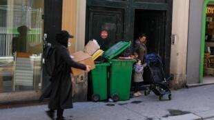 Rue de Paradis, dans le Xe arrondissement de Paris.
