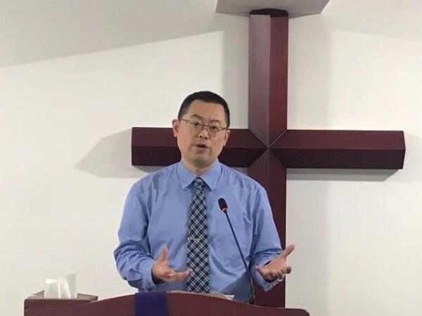 中國地下教會牧師王怡資料圖片