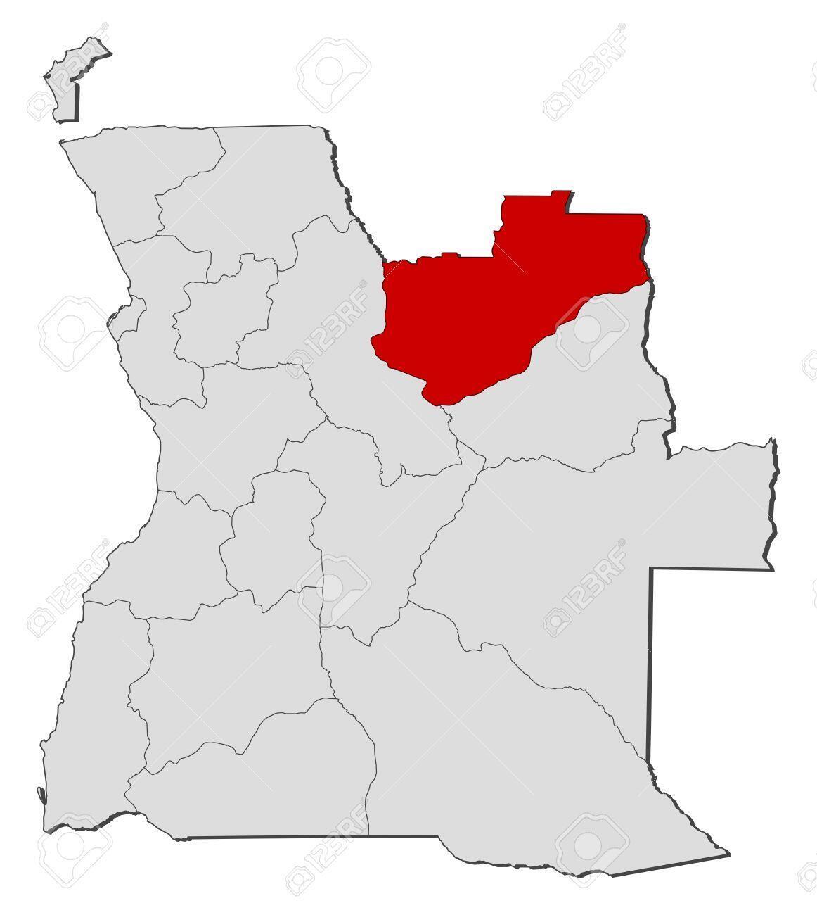 Lundas a vermelho no mapa de Angola, palco de mais manifestações a 23 de junho com 3 presos pela polícia angolana