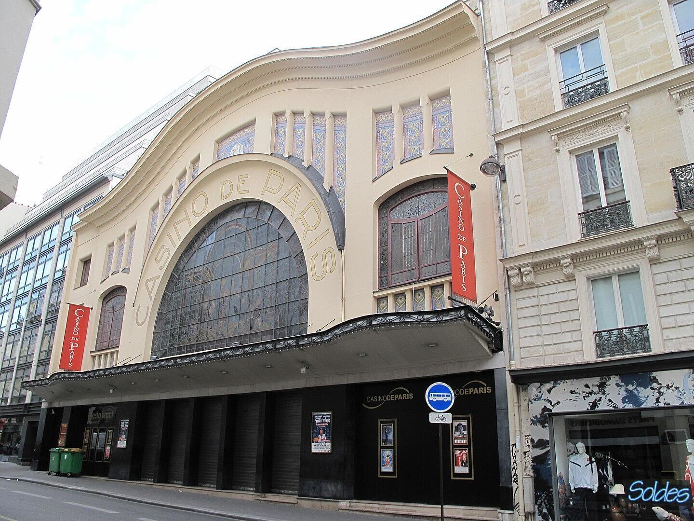 Фасад парижского театра «Казино де Пари» внесен в список исторических памятников.