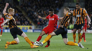 Raheem Sterling will swap the red of Liverpool for the blue of Manchester City.