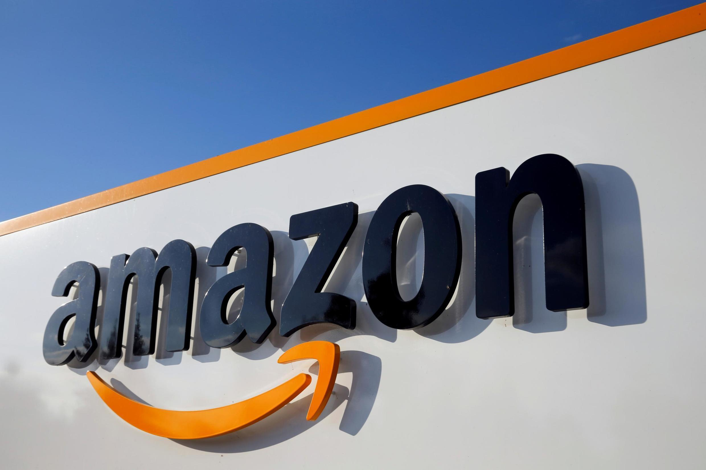 Plateforme logistique d'Amazon à Boves, dans la Somme (France).