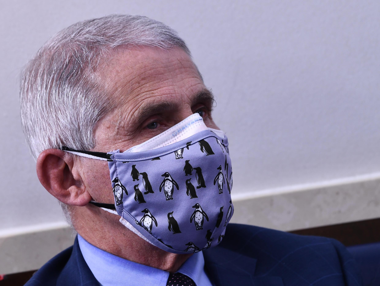 Anthony Fauci, director del Instituto Nacional de Alergias y Enfermedades Infecciosas de Estados Unidos, es el epidemiólogo más respetado del país