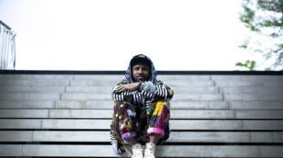 Le rappeur togolais Elom20ce