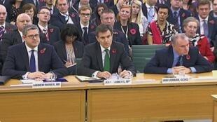 Главы британской разведки на слушаниях в парламенте Великобритании 07/11/2013