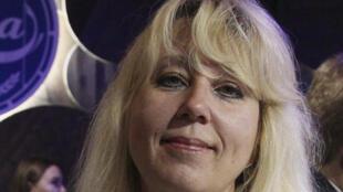 Irina Slavina à Nijni-Novogorod, le 1er octobre 2019.
