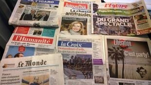 Diários franceses 13/05/2015