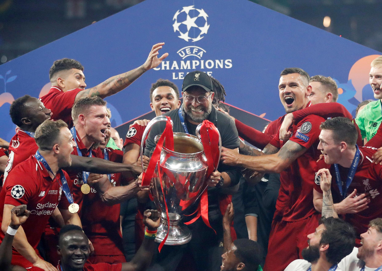Liverpool venceu a Liga dos Campeões 2019.
