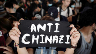Biểu tình tại Kowloon ngày 02/10/2019 phản đối việc bắt giữ 96 người tham gia xuống đường tại Hồng Kông.