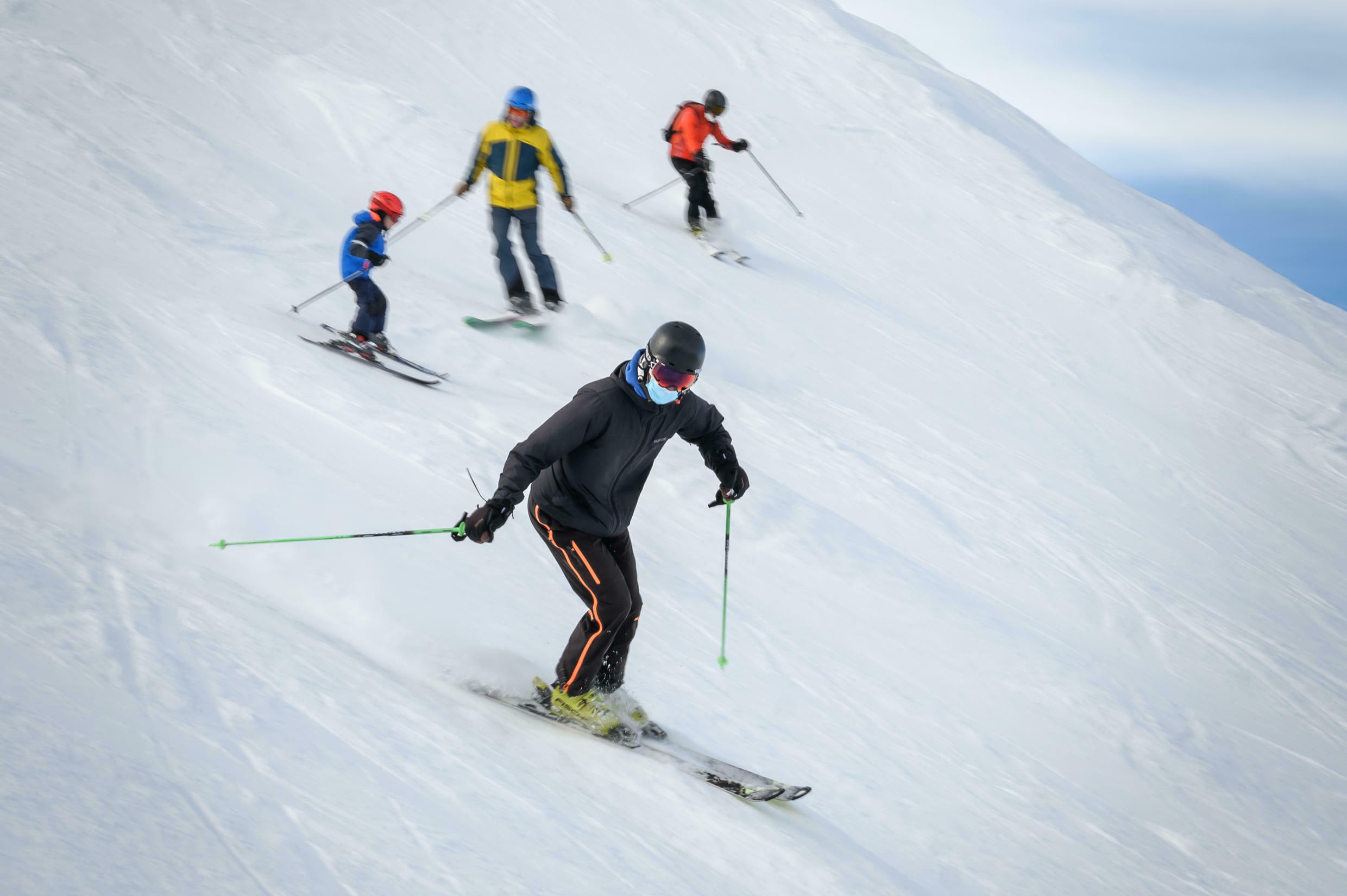 Ski resorts in non-EU member Switzerland are open and operators are hoping for an influx of tourists over Christmas.