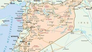 نقشۀ سوریه