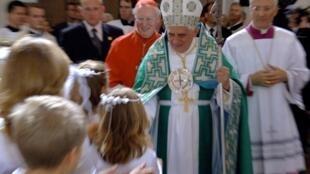 Cựu giáo hoàng Bênêđictô XVI tại Munich. Ảnh tháng 9/2016.