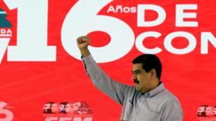 El presidente Maduro en Miraflores, Caracas, 26 de junio de 2019.