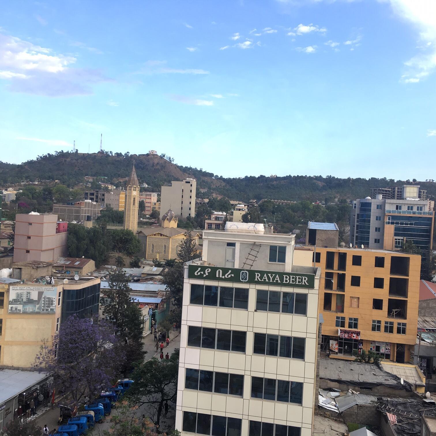 La ville de Mekele en Éthiopie où les Érythréens tentent leur chance.