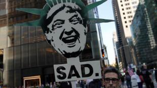 Une manifestation anti-Trump à New York, le 14 juin 2017.