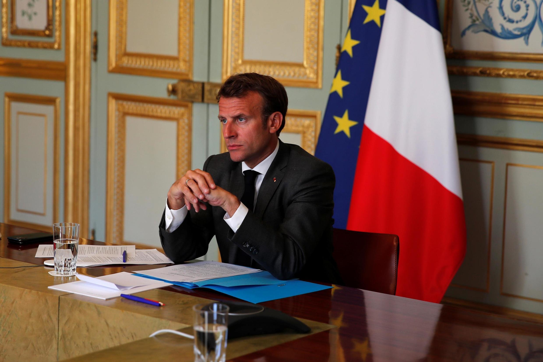 Emmanuel Macron a lancé jeudi après-midi à l'Elysée une mission d'évaluation de la gestion de la crise du coronavirus.