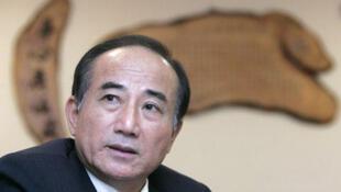 台湾立法院长王金平。