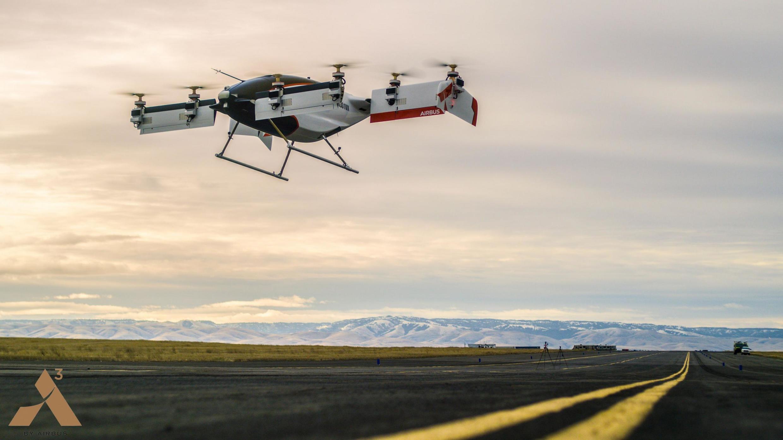 Первый полет «такси будущего» Vahana фирмы Airbus в январе 2018 года