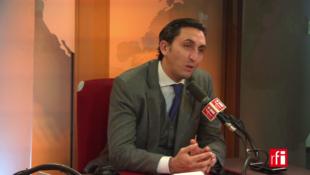 Julien Aubert sur RFI le 21 février 2018.