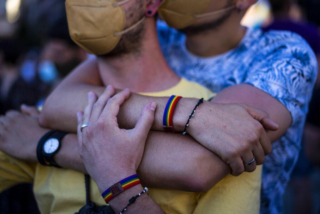 Manifestação Homofobia Espanha