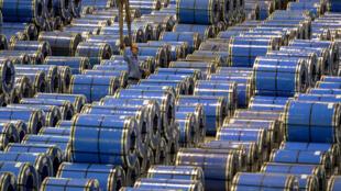 山西一家钢铁厂生产的不锈钢